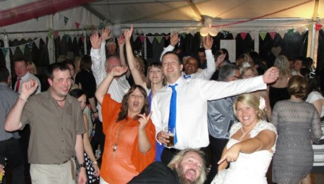 Entertainment For Marquee Wedding
