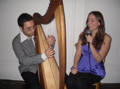 The Harp and Vocal Duo