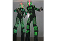 9ft LED ROBOTS