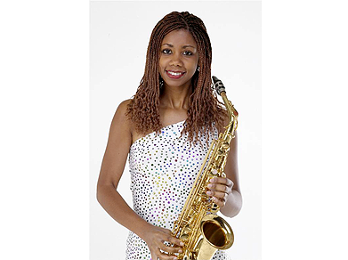 The Sax Lady