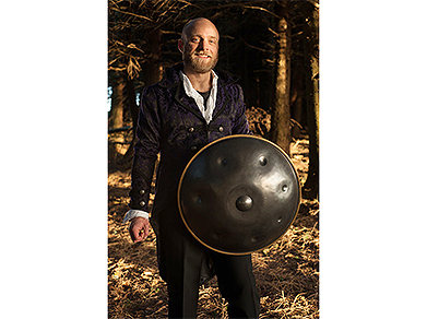 Hang Drum Handpan Player